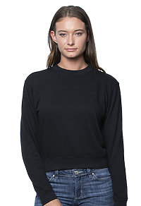 Womens Organic RPET French Terry Crew